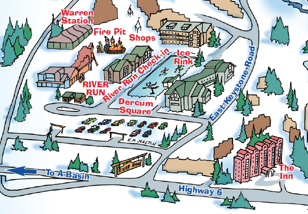 Keystone Kids' Cartoon Maps Swatch