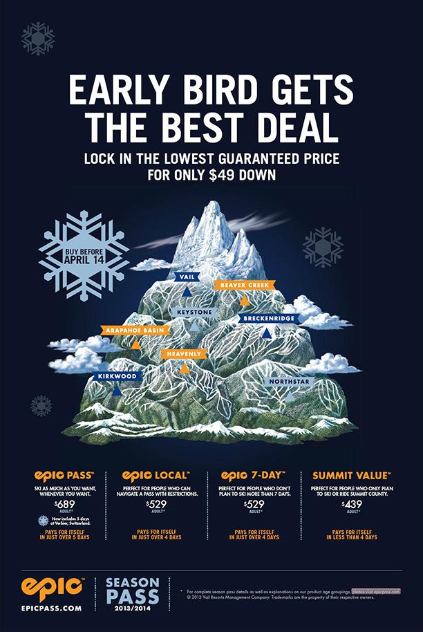Vail Ski Resort Trail Map