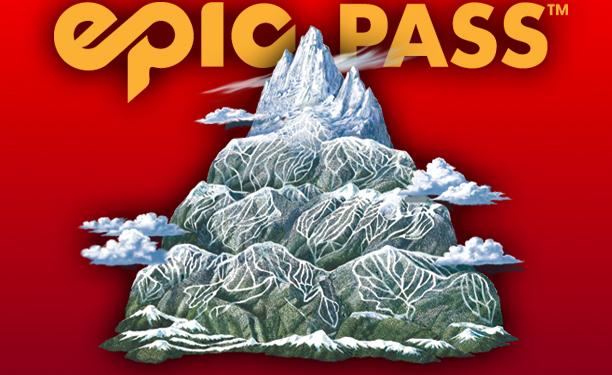 Epic Pass Ski Map Illustration Kevin Mastin