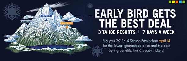 Heavenly Tahoe Kirkwood Ski Trail Illustration Kevin Mastin