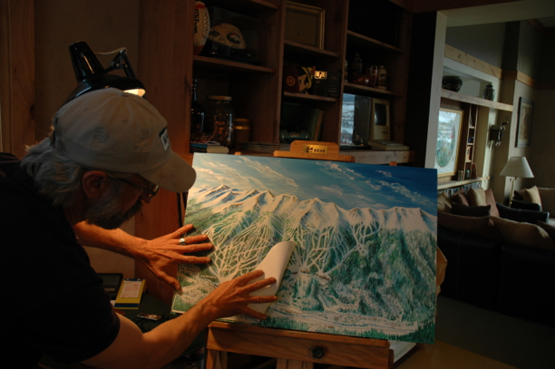 Breckenridge Ski Trail Map Process103
