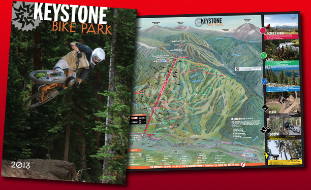 Keystone Bike Trail Map
