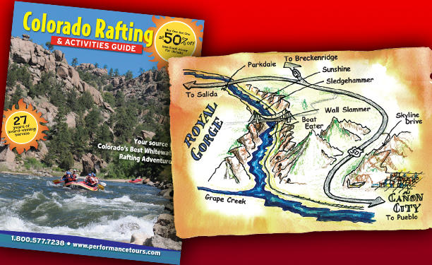 Performance Tours Rafting Maps