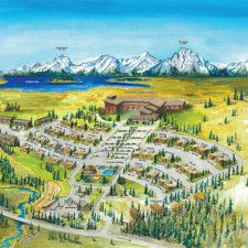 Jackson Lake Lodge Wyoming Resort Map