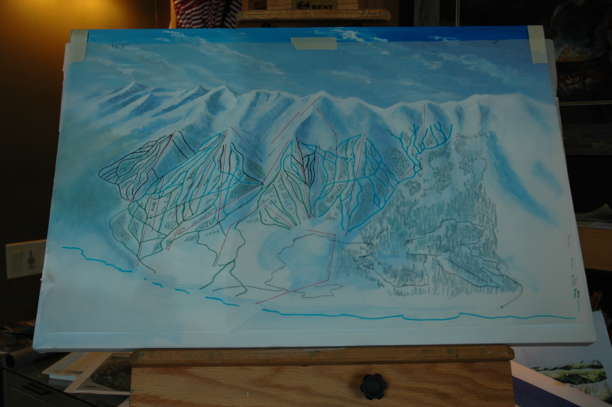 Breckenridge Ski Trail Map Process060