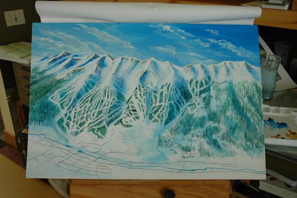 Breckenridge Ski Trail Map Process080