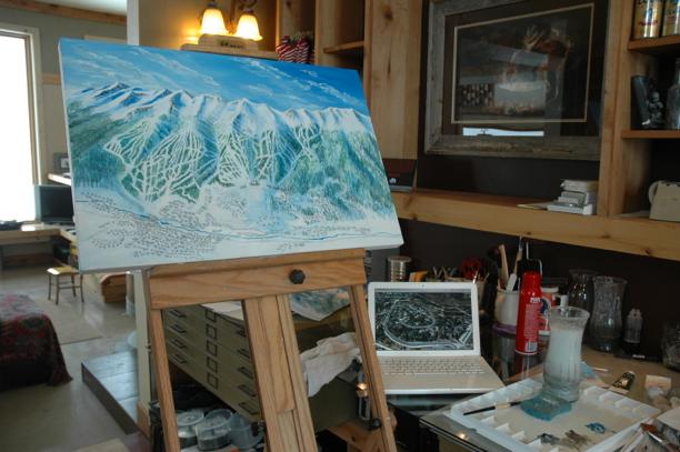 Breckenridge Ski Trail Map Process083