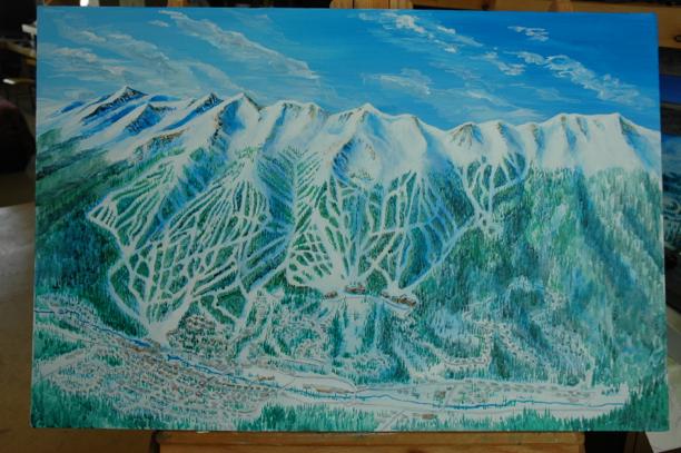 Breckenridge Ski Trail Map Process092