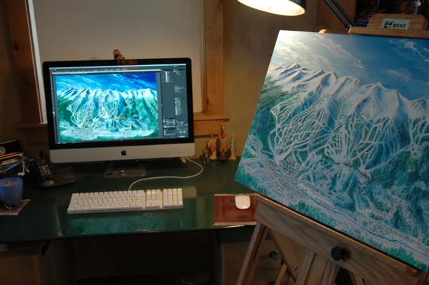 Breckenridge Ski Trail Map Process097
