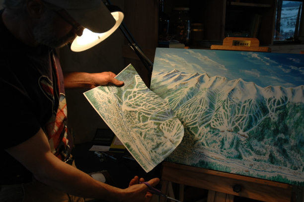 Breckenridge Ski Trail Map Process100