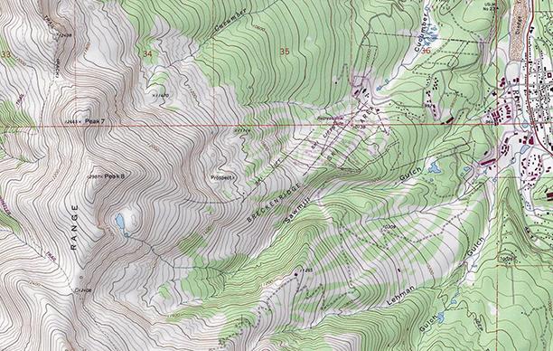 USGS Topo Swatch