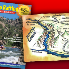 Performance Tours Brochure and Rafting Maps