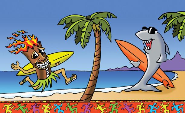 Tiki Shark © Kevin Mastin