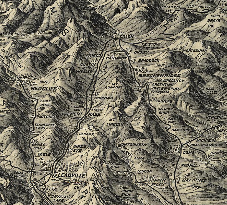 Colorado 1884 Detail