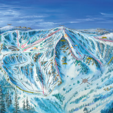 Bear Valley Ski Trail Map